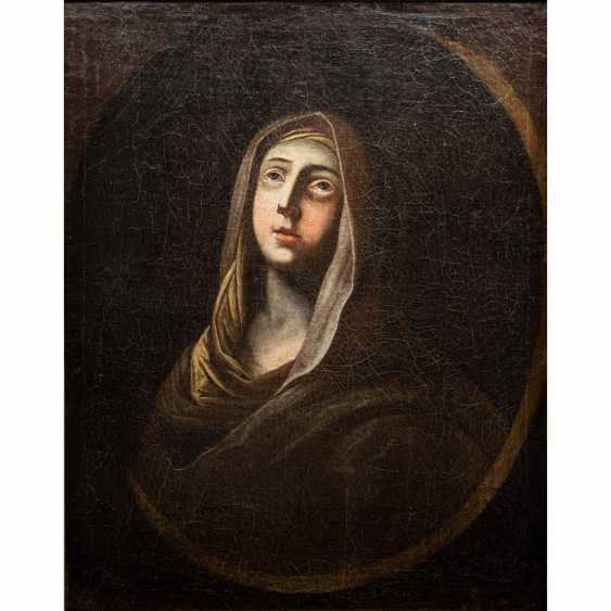"""BAROQUE PAINTER 18. Century, """"Mary Magdalene with a Cape"""", - photo 1"""