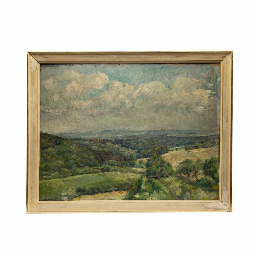 """LEHMANN, ALFRED (Stuttgart 1899-1979), """"landscape in the case of Stuttgart"""", - photo 2"""