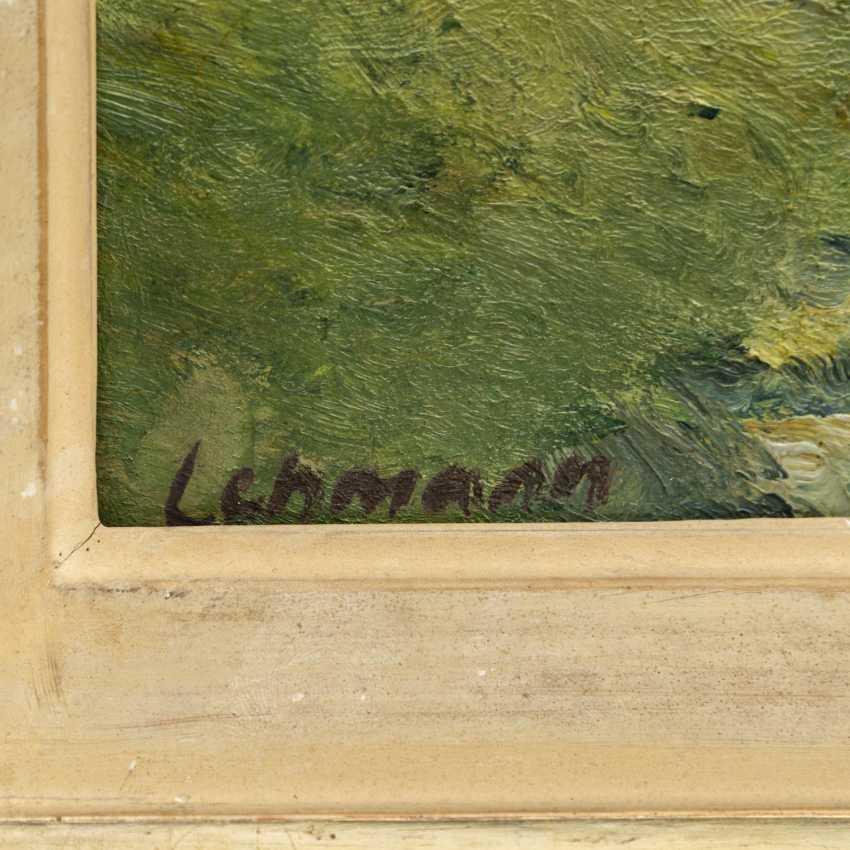"""LEHMANN, ALFRED (Stuttgart 1899-1979), """"landscape in the case of Stuttgart"""", - photo 3"""