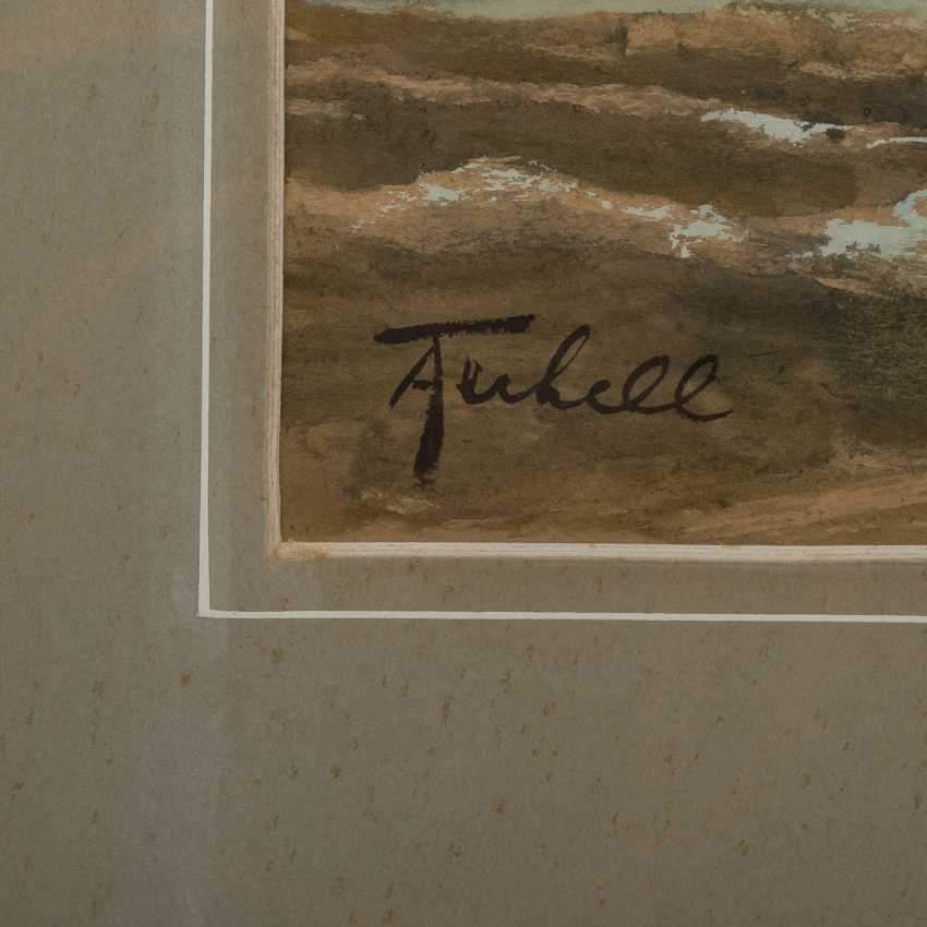 "TERHELL, ADRIAAN CHRISTIAN W. (1863-1949), ""sailing boats on the coast"", - photo 3"