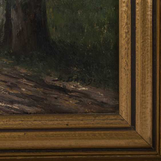 LAMBERT, B., a Pseudonym for KARL KAUFMANN (1843-1902/05), Pair of landscapes, - photo 2