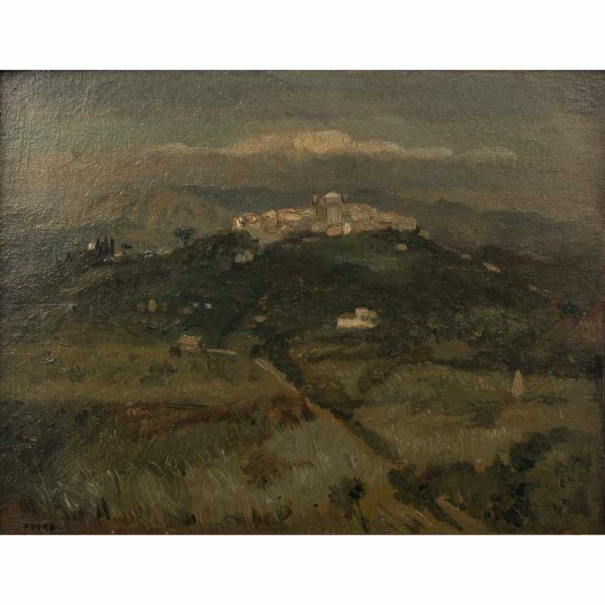 "FAURE, AMANDUS (Hamburg 1874-1931 Stuttgart), ""Italian hills"", - photo 1"