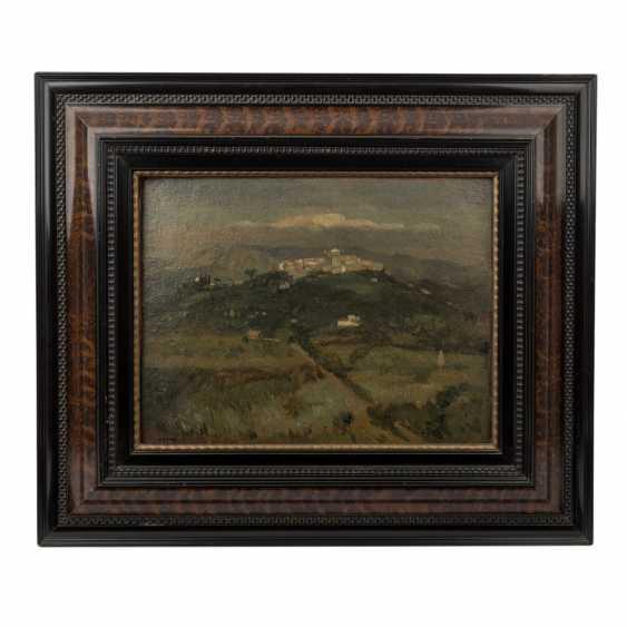 "FAURE, AMANDUS (Hamburg 1874-1931 Stuttgart), ""Italienische Hügellandschaft"", - Foto 2"