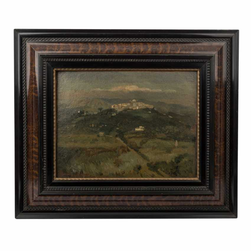 "FAURE, AMANDUS (Hamburg 1874-1931 Stuttgart), ""Italian hills"", - photo 2"