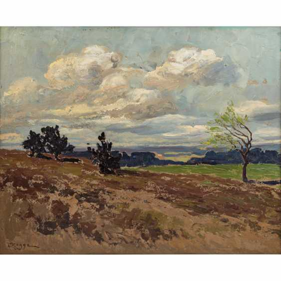 "ROGGE, EMY (1866-1959), ""North German landscape,"" - photo 1"