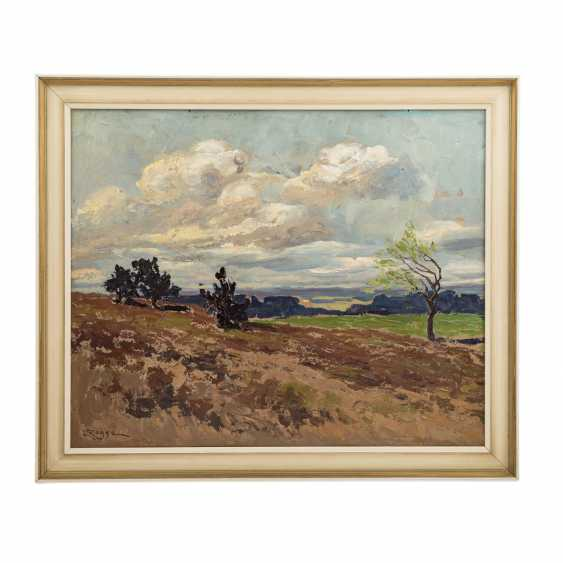 "ROGGE, EMY (1866-1959), ""North German landscape,"" - photo 2"