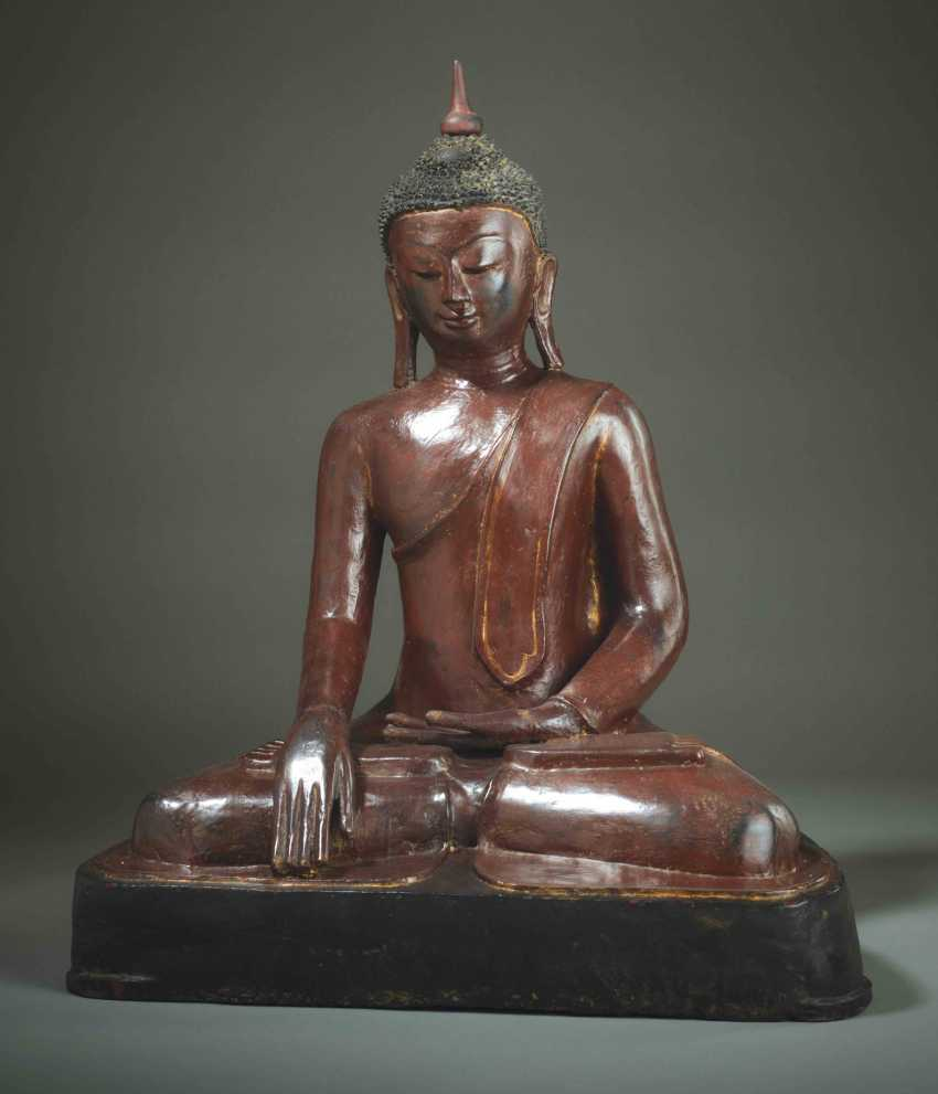 MEDITATIVE, SITTING BUDDHA - photo 1