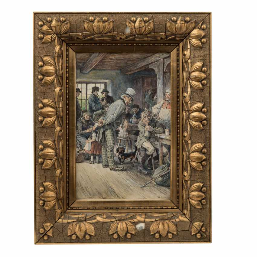 """CLAUDIUS, Wilhelm, ATTRIBUTED to (1854-1942), """"The dentist"""", - photo 2"""