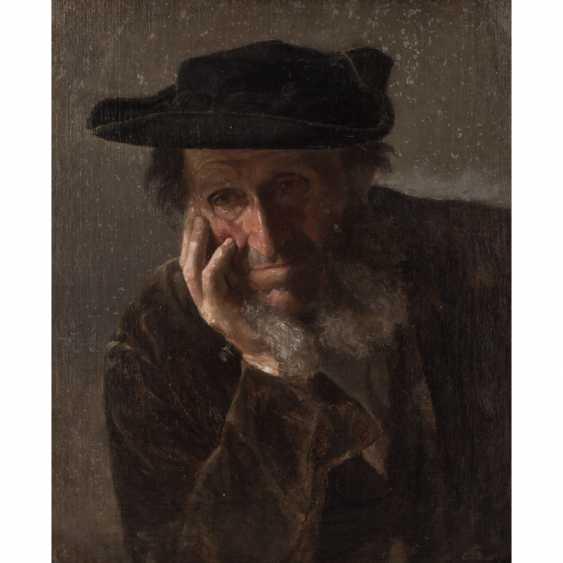 """SPEYER, CHRISTIAN ( 1855-1929) """" Schwäbischer Bauer"""" - Foto 1"""