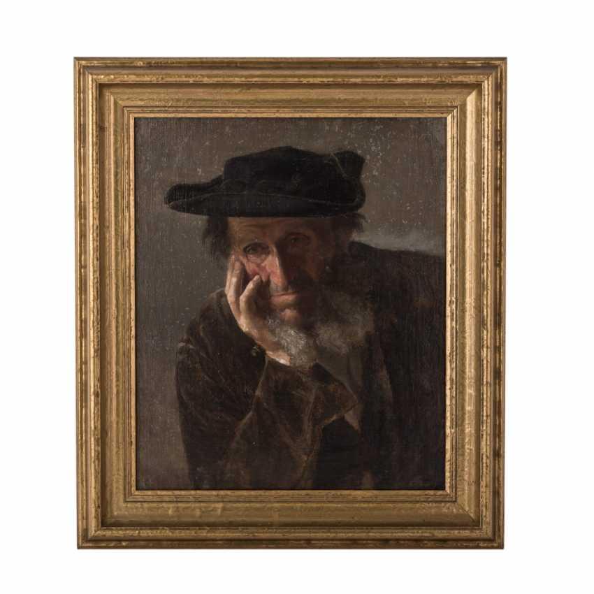 """SPEYER, CHRISTIAN ( 1855-1929) """" Schwäbischer Bauer"""" - Foto 2"""