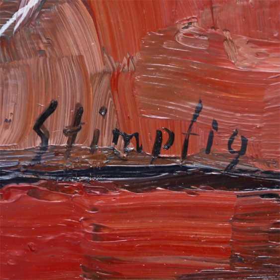 "STIMPFIG, Jürgen (geb. 1955 in Heidenheim, Germany), ""still life with red Radishes"", - photo 3"