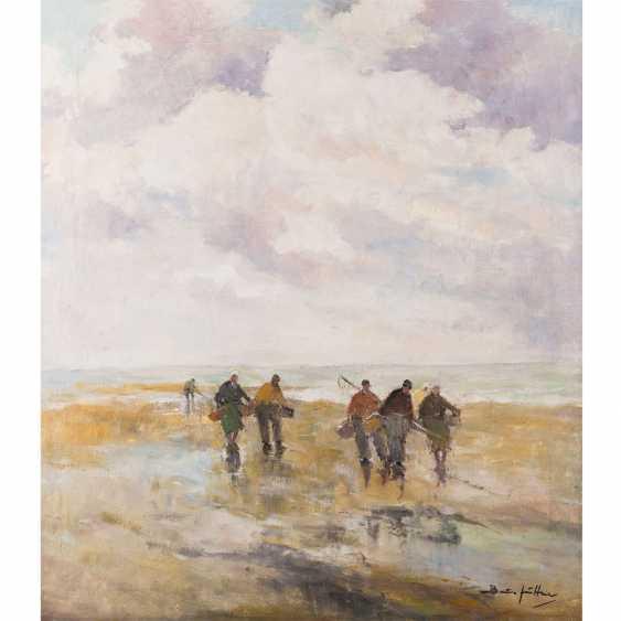 "JÜTTNER, BRUNO (1880-1965), ""crab fishermen"", - photo 1"