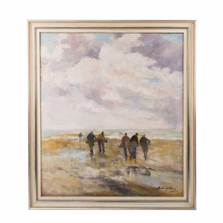 "JÜTTNER, BRUNO (1880-1965), ""crab fishermen"", - photo 2"