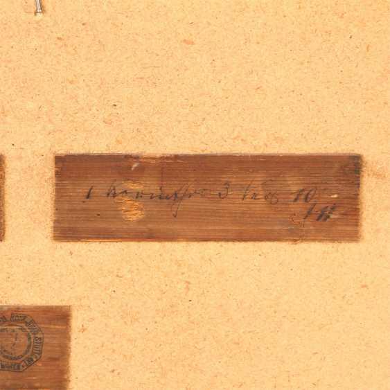 """MALER der 1. Hälfte des 19 Jahrhundert, """"Oberbalzheim an der Iller, Blick auf die Kirche"""", - Foto 6"""