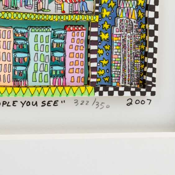 """RIZZI, JAMES (1950-2011), """"New York City is a great place to be..."""" - photo 4"""
