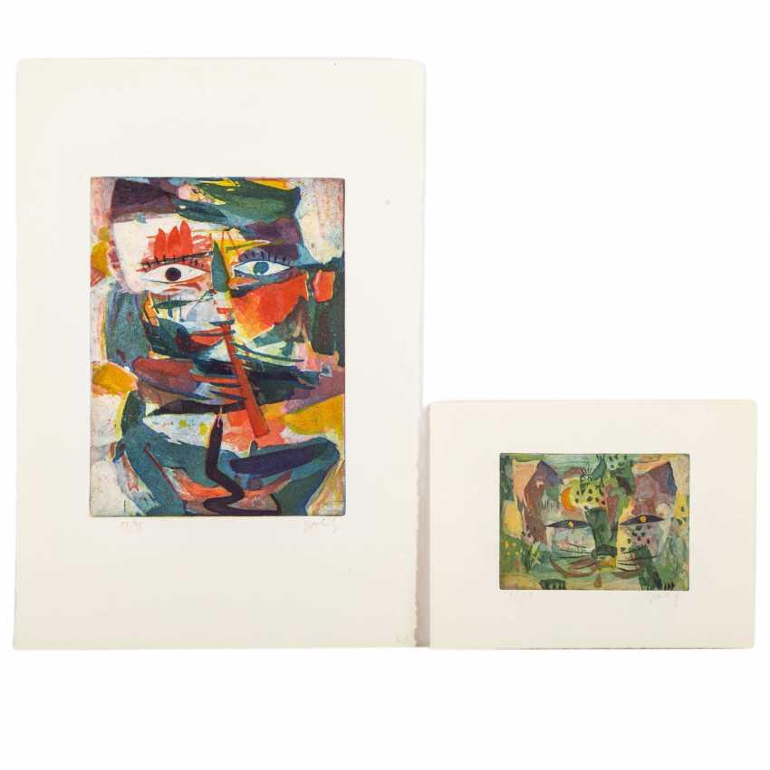TAKAHASHI, YOSHI (1943-1998), 2 figurliche Kompositione, - photo 1