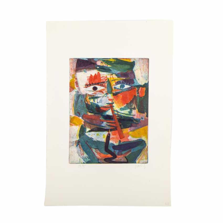 TAKAHASHI, YOSHI (1943-1998), 2 figurliche Kompositione, - photo 2
