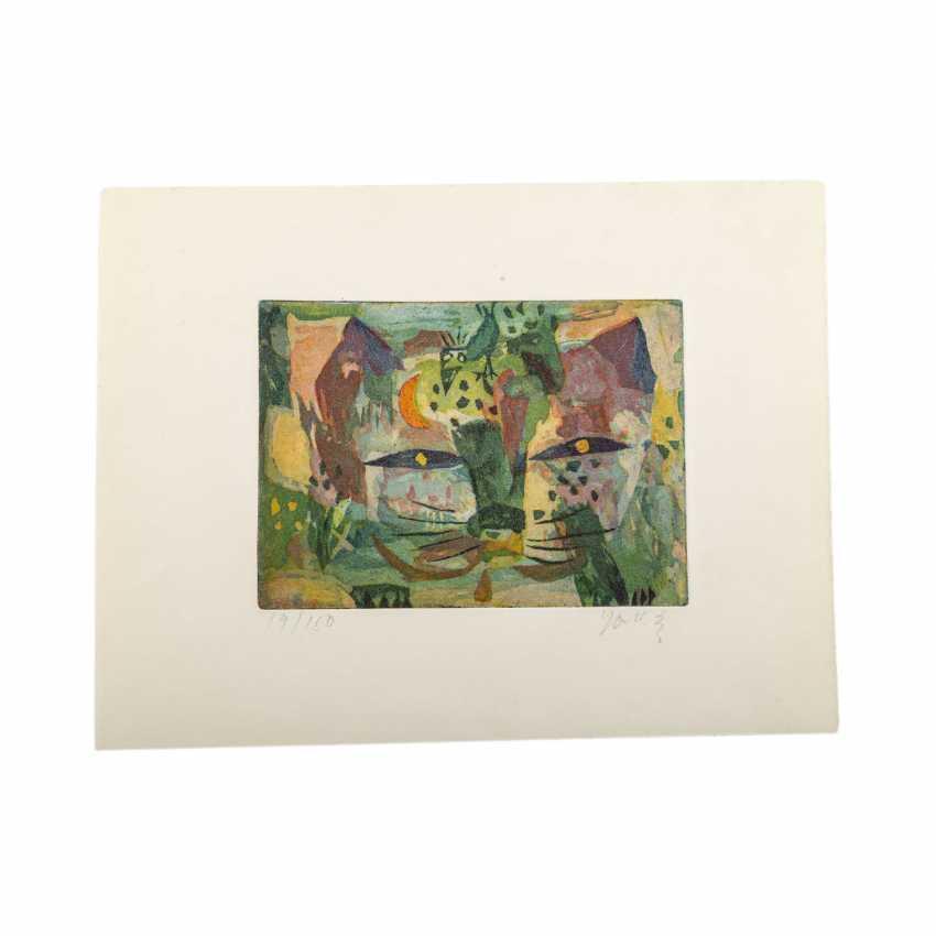 TAKAHASHI, YOSHI (1943-1998), 2 figurliche Kompositione, - photo 3