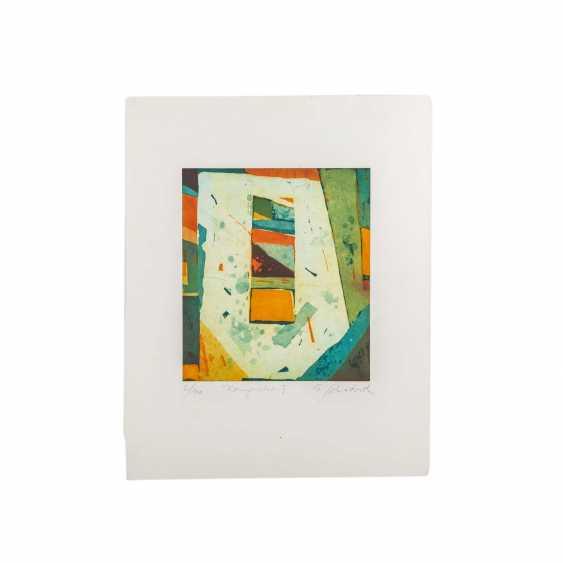 SCHÄDRICH, ECKHART (born. 1950), 2 abstract compositions, - photo 3