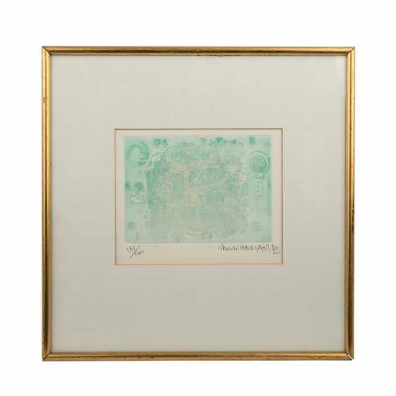HASEGAWA, SHOICHI (geb.1929 Yaizu, Japan), Drei Graphiken, - Foto 2