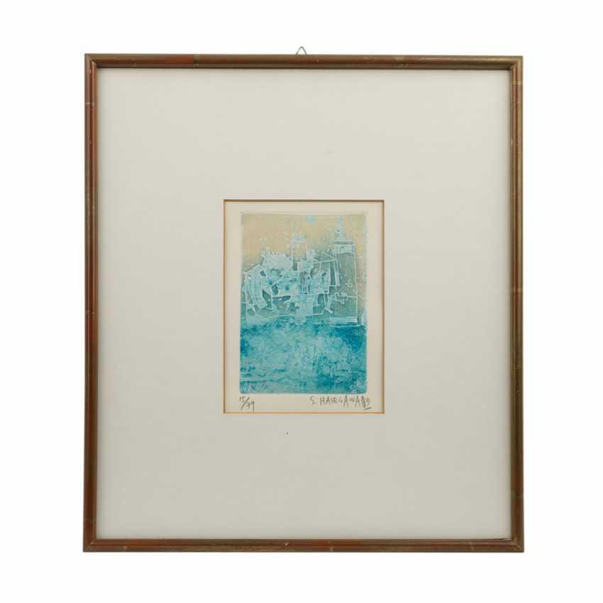 HASEGAWA, SHOICHI (geb.1929 Yaizu, Japan), Drei Graphiken, - Foto 3