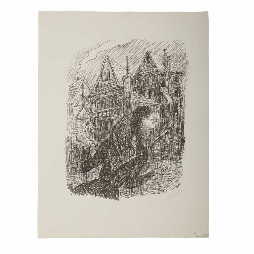 "KUBIN, ALFRED (1877-1959), ""Straßendirne"", - Foto 1"
