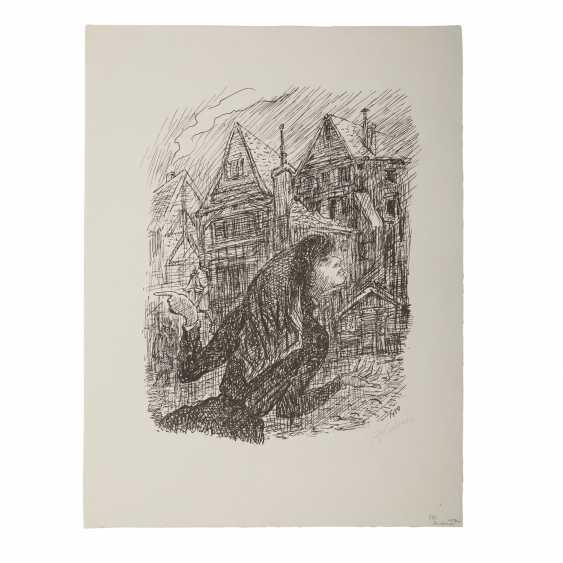 "KUBIN, ALFRED (1877-1959), ""Straßendirne"", - Foto 2"