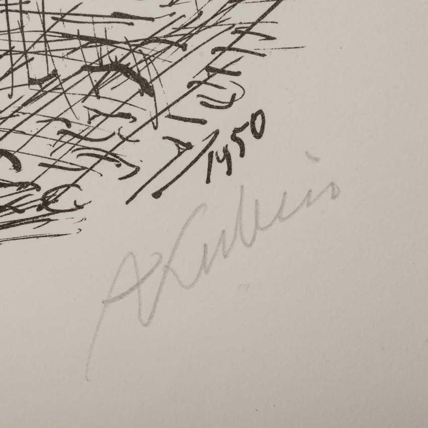 """KUBIN, ALFRED (1877-1959), """"Streetwalker"""", - photo 3"""