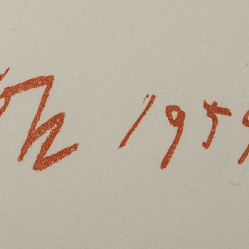 """KOKOSCHKA, OSKAR (1886-1980), """"The Action Painter"""", - photo 3"""