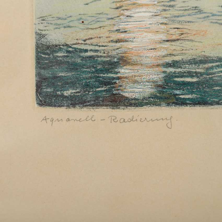 BRÜNING, MAX (1887-1968), 2 Landschaften, - Foto 2