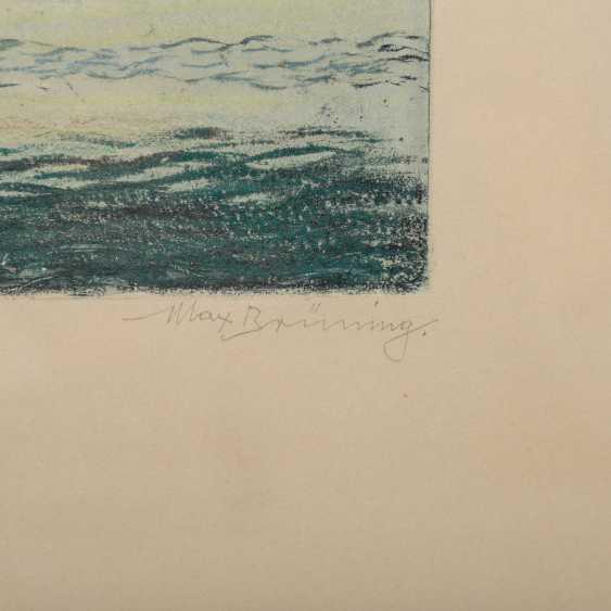 BRÜNING, MAX (1887-1968), 2 Landschaften, - Foto 3