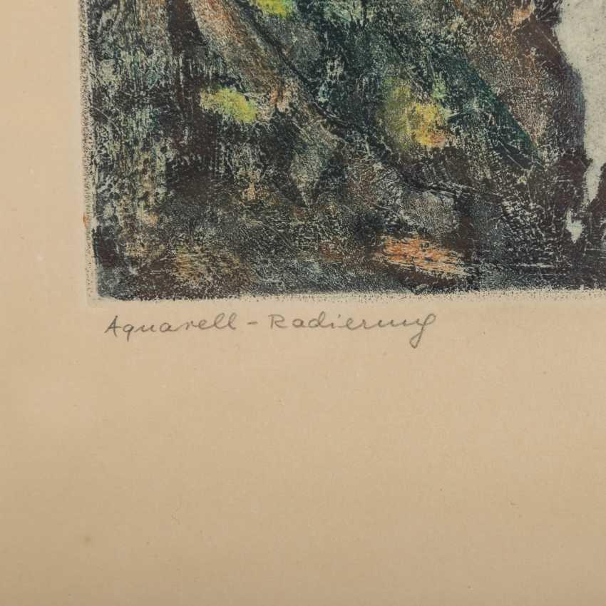 BRÜNING, MAX (1887-1968), 2 Landschaften, - Foto 4