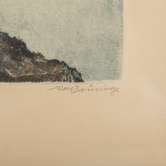 BRÜNING, MAX (1887-1968), 2 Landschaften, - Foto 5