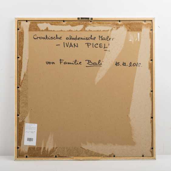 """PICELJ, IVAN (auch Yvan Picely, 1924-2011), """"Geometrische Farbkomposition der Op-Art"""", - photo 4"""
