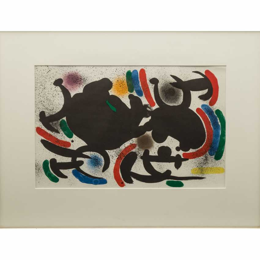 "MIRO, JOAN (1893-1983), ""Abstract composition"", - photo 1"