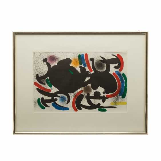 "MIRO, JOAN (1893-1983), ""Abstract composition"", - photo 2"