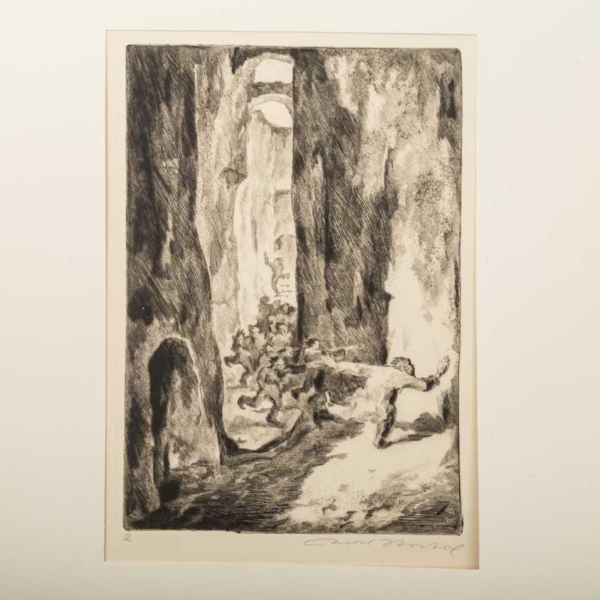 "STRATIL, KARL (1894-1963), ""18 engravings to E. G. Kolbenheyers AMOR DEI"", - photo 3"