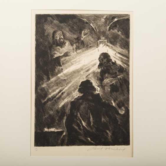 "STRATIL, KARL (1894-1963), ""18 engravings to E. G. Kolbenheyers AMOR DEI"", - photo 4"