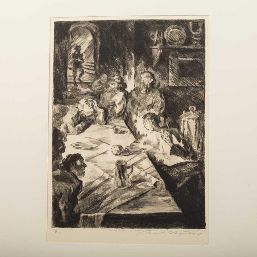 "STRATIL, KARL (1894-1963), ""18 engravings to E. G. Kolbenheyers AMOR DEI"", - photo 5"