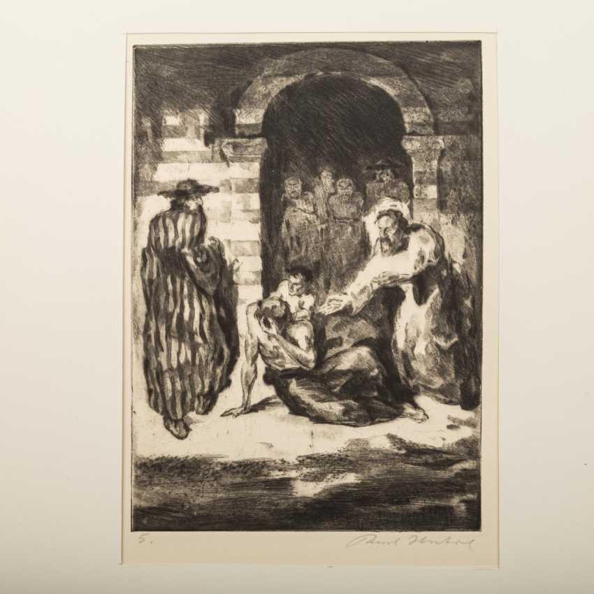 "STRATIL, KARL (1894-1963), ""18 engravings to E. G. Kolbenheyers AMOR DEI"", - photo 6"