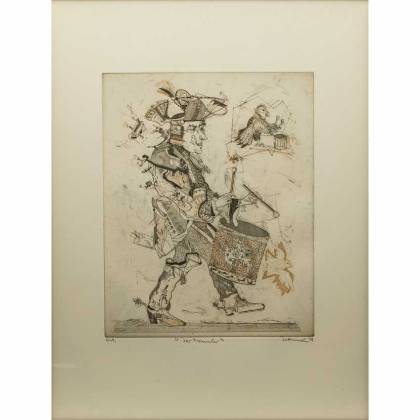 DITTRICH, Simon (geb. 1940), 3 colour etchings, - photo 3