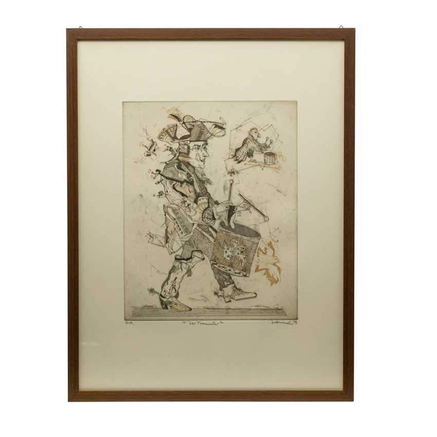 DITTRICH, Simon (geb. 1940), 3 colour etchings, - photo 6