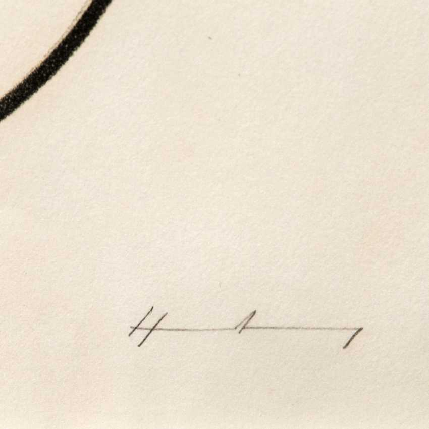 "HARTUNG, HANS (1904-1989), ""spiral shapes on strip composition"", - photo 3"
