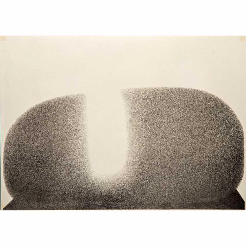 """KNAUPP, WERNER (geb. 1936), """"Vulkan"""", - Foto 1"""