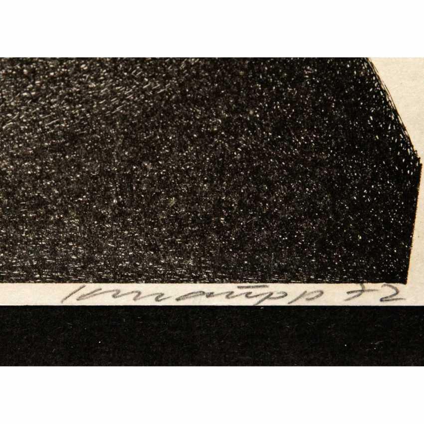 """KNAUPP, WERNER (geb. 1936), """"Vulkan"""", - Foto 3"""