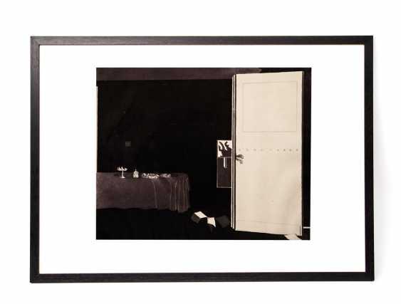 """CASTILLO, JORGE (geb. 1933), """"Interieur mit Tisch"""", - Foto 2"""