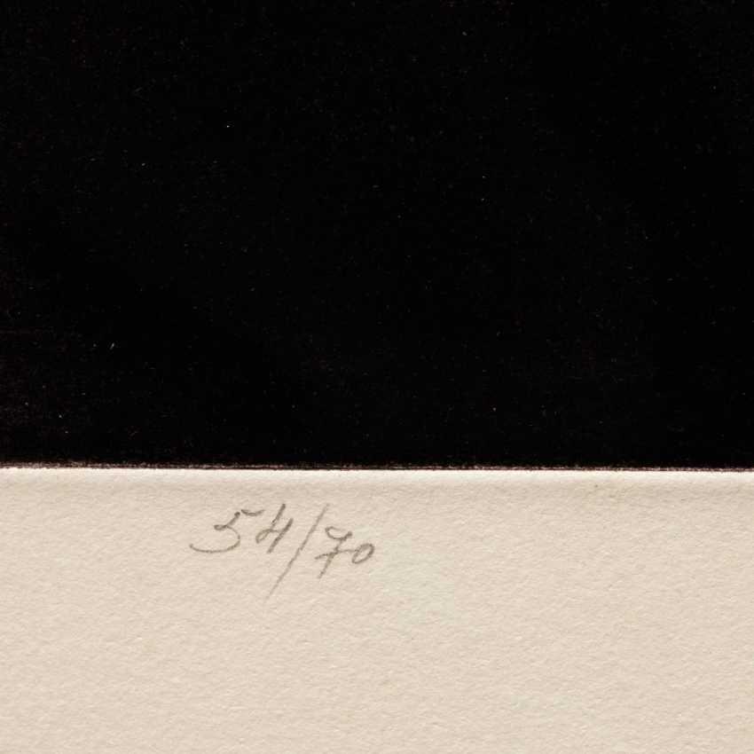 """CASTILLO, JORGE (geb. 1933), """"Interieur mit Tisch"""", - Foto 4"""