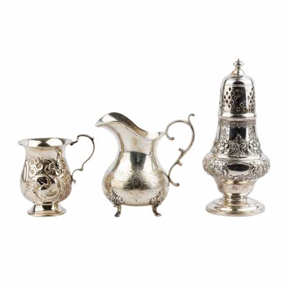 Vintage 10tlg. Silver and silver plated, 20. Century. - photo 2