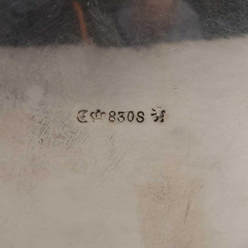 GEBRÜDER DEYHLE Kaffee-/Teekern auf Tablett, 20. Jahrhundert. - Foto 5
