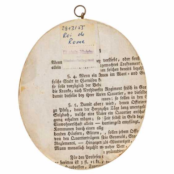 Porträt-Miniatur 'Knabe im roten Anzug', 1900-1945. - Foto 3